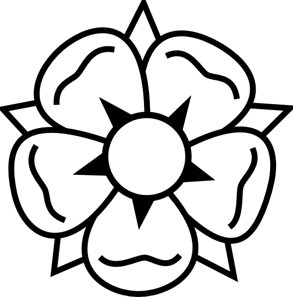 Black And White Flower Images Clipart | Free download best Black And ...