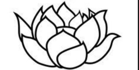Black and white flower outline free download best black and white 471x236 black mightylinksfo