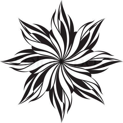 480x480 Free Black And White Stencil Vector
