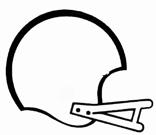 600x519 Football Clipart Black And White Free Clipart Images 4