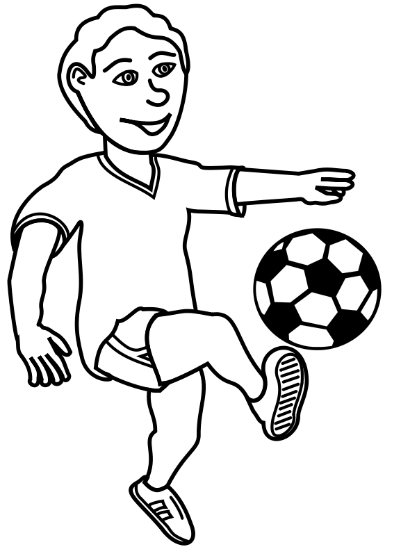 600x800 Soccer Clipart Black And White Many Interesting Cliparts