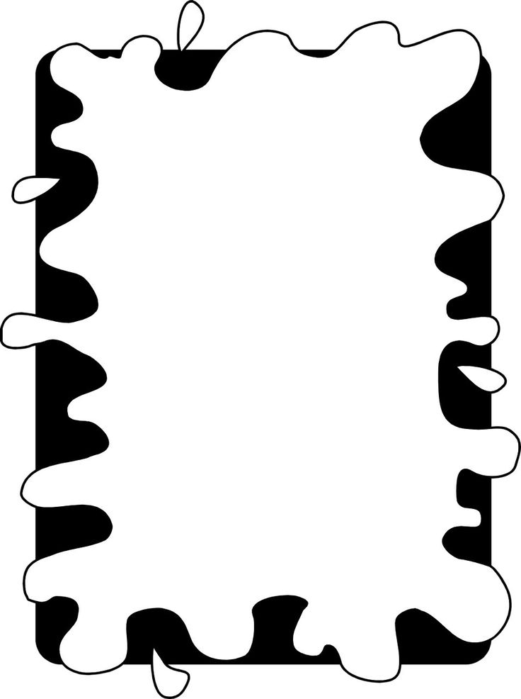 Black And White Frame Clipart | Free download best Black And White ...