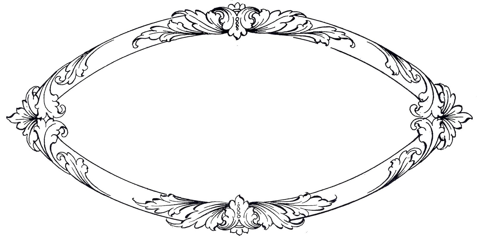 Black And White Frame Clipart Free Download Best Simple Picture