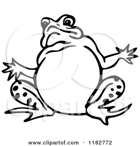 Black And White Frog Pictures