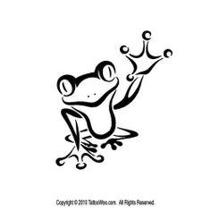 236x236 Frog Clipart Black And White Brush Stroke