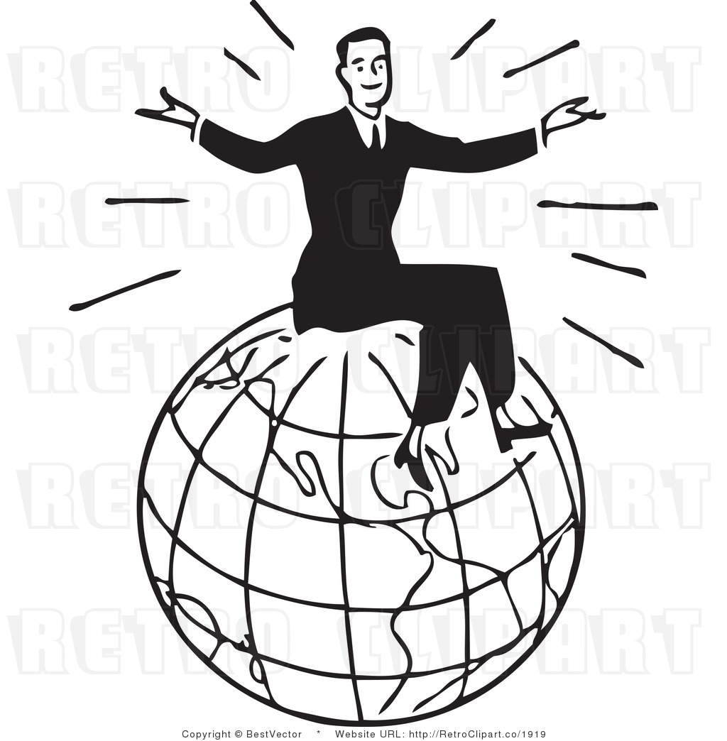 1024x1044 Black And White Globe Clipart