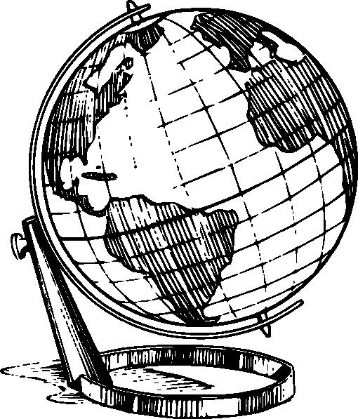 510x597 Globe Clip Art