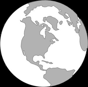 300x294 World Grey Logo Clip Art