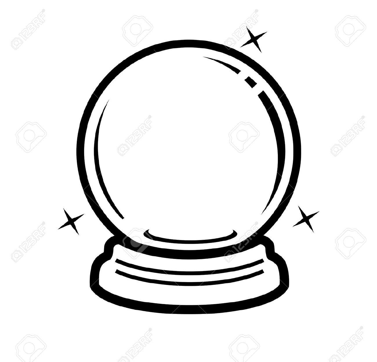 1300x1250 Crystal Ball Clip Art