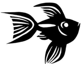340x270 Ceramic Goldfish Etsy