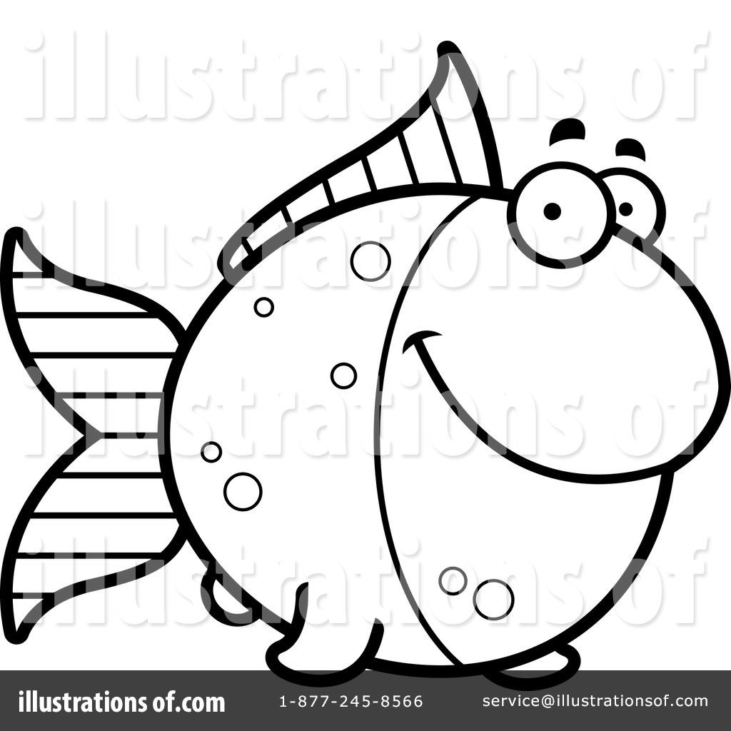1024x1024 Goldfish Clipart