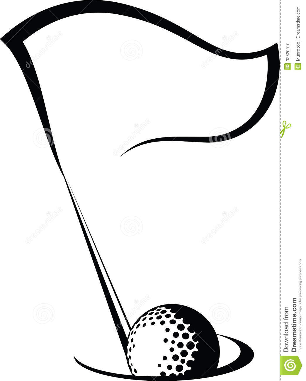 1044x1300 Golf Black And White Clipart