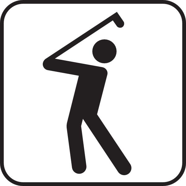 600x600 Golfer Free Clipart Images Golf Ball Clipart 3 Clipartcow Image 2