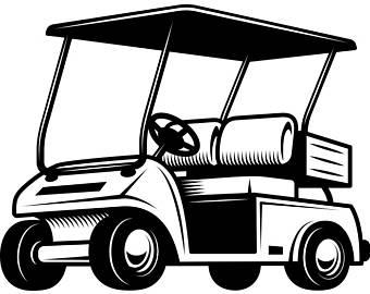 340x270 Clipart Golf Cart Amp Clip Art Golf Cart Images