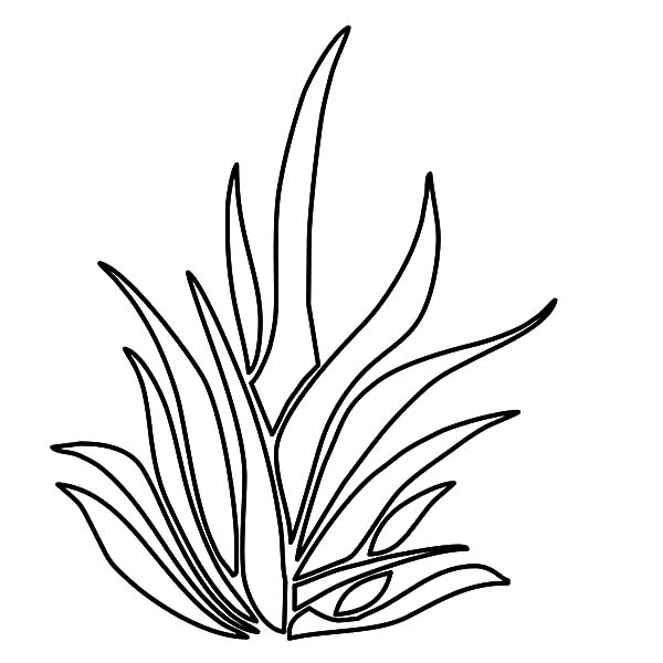 Black And White Grass Clipart | Free download on ClipArtMag