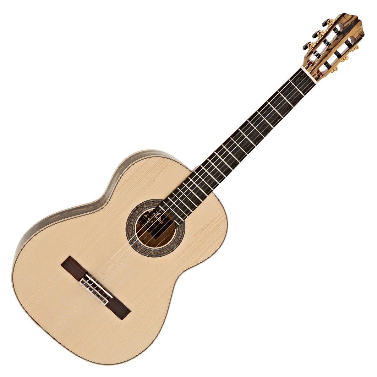 1200x1200 Cordoba Espana 45 Limited Classical Guitar, Black And White Ebony