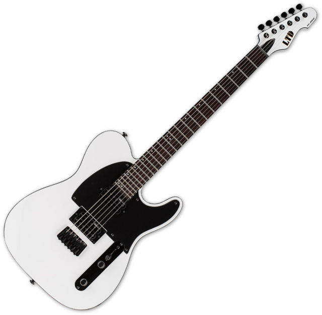 640x625 Esp Ltd Te 200 Rsw Rosewood Fretboard Snow White Guitar Ebay