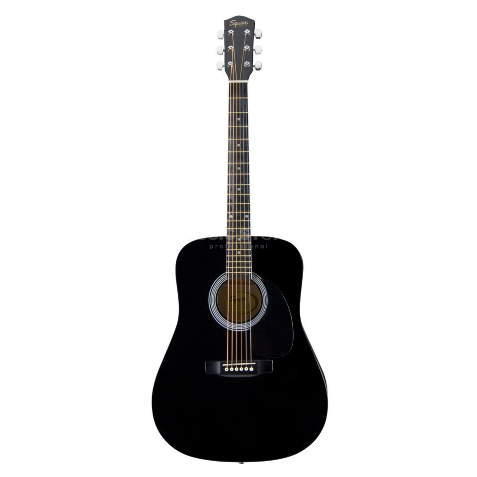 960x960 Fender Squier Sa105 Acoustic Guitar, Black
