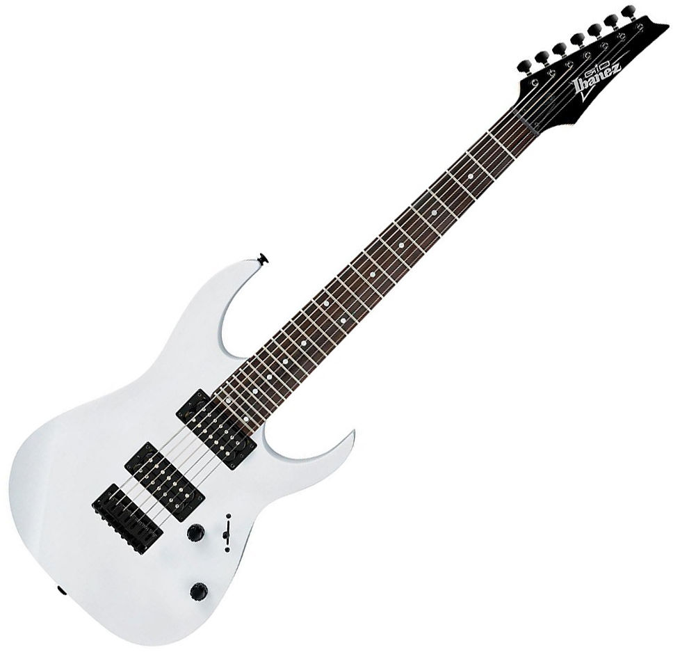 968x944 Ibanez Grg7221 7 String Electric Guitar White Ebay