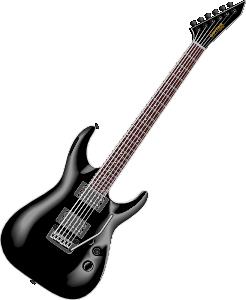 246x300 Guitar Clip Art Black And White Clipart Panda