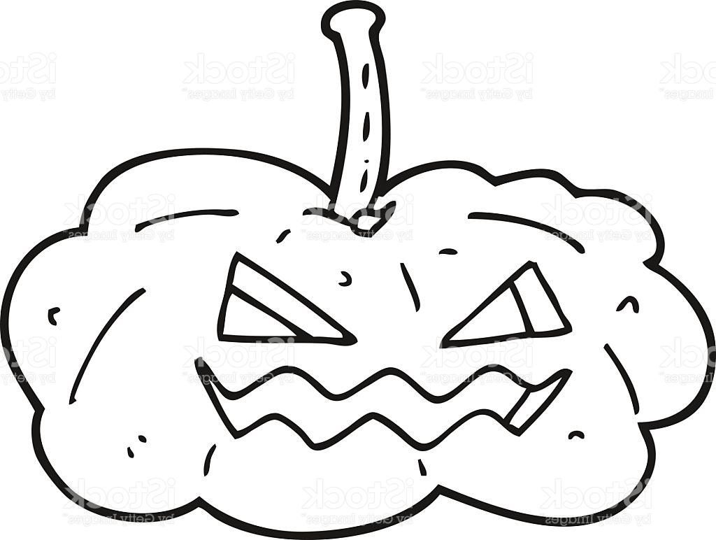 1024x772 Top Black And White Cartoon Halloween Pumpkin Vector Library