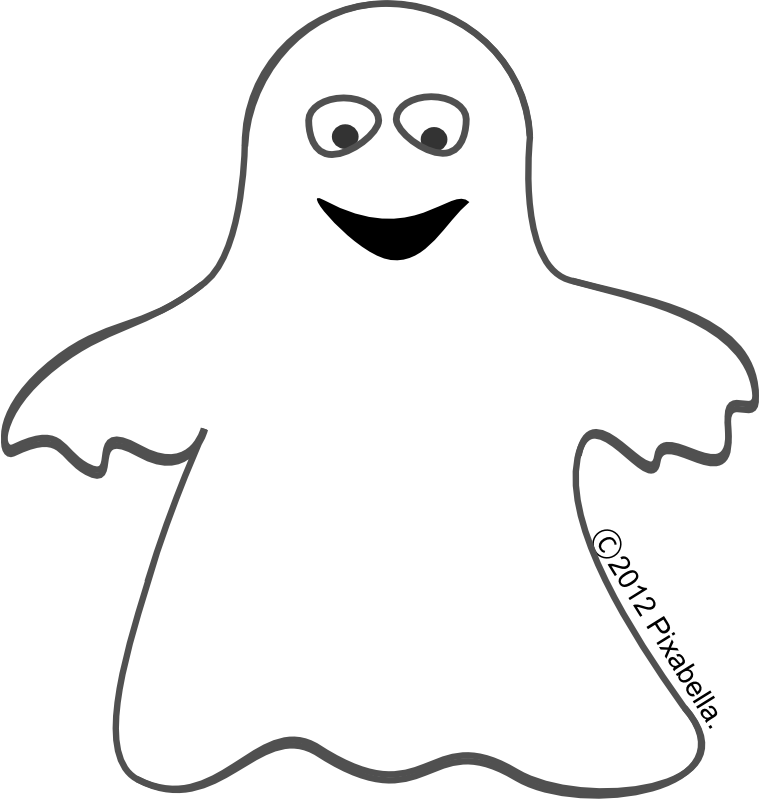 760x810 Halloween Clip Art Black And White Ghost5 The Art Mad