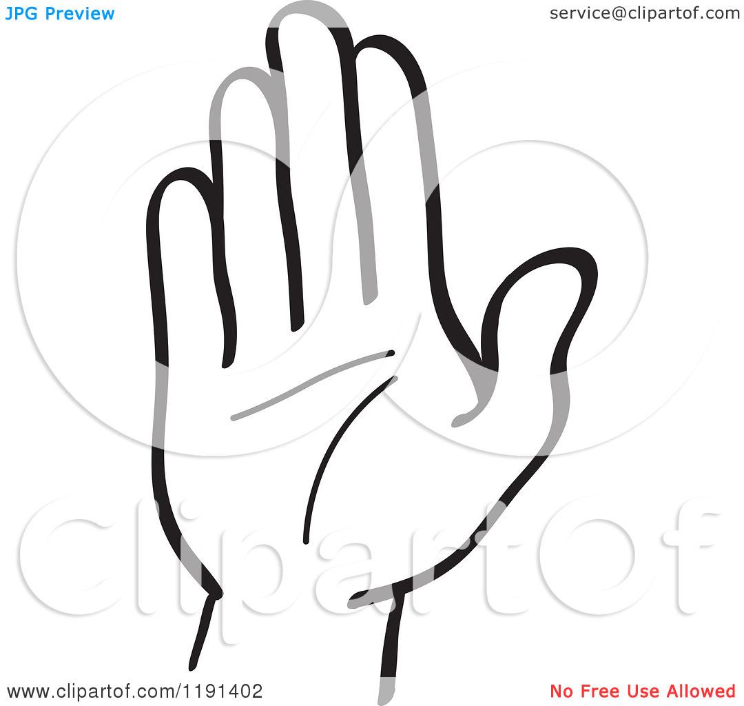 1080x1024 Hand Clip Art Black And White Clipart Panda