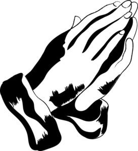 273x300 Praying Hands Clip Art Black And White Clipart Panda