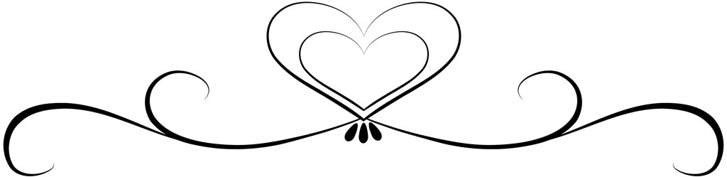 1024x249 Heart Border Clipart Black And White Letters Example