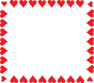 190x168 Heart Borders Cliparts 220616