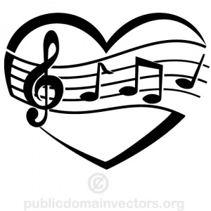 300x300 Music Clipart Black And White