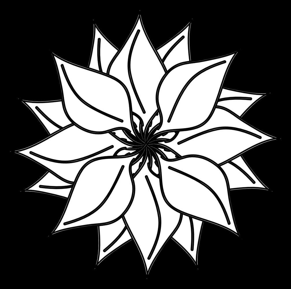 1007x1000 Hawaiian Clip Art Black And White Clipart Panda