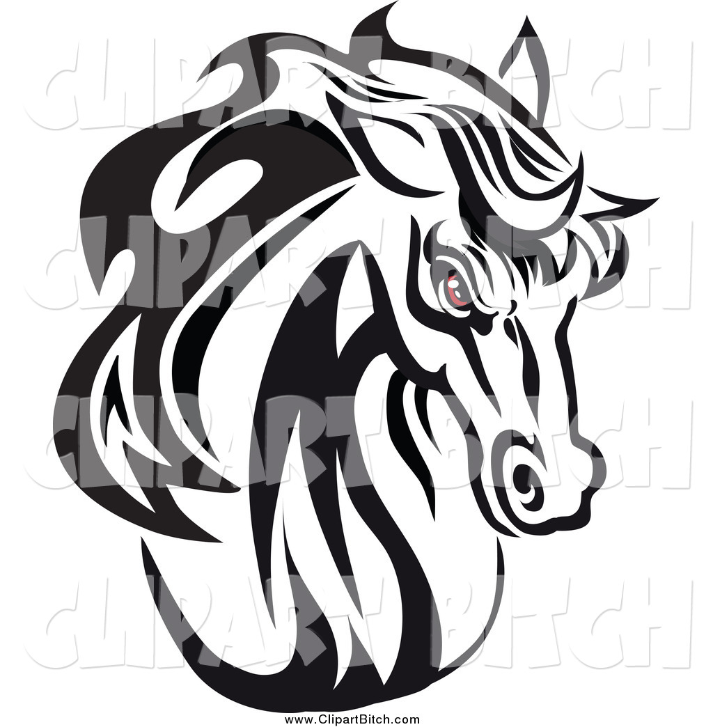 1024x1044 Horses Head Clipart Black And White