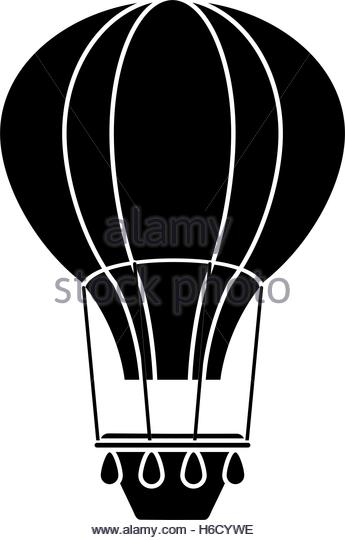 345x540 Hot Air Balloon Black And White Stock Photos Amp Images