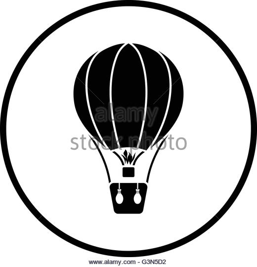 520x540 Hot Air Balloon Cartoon Black And White Stock Photos Amp Images