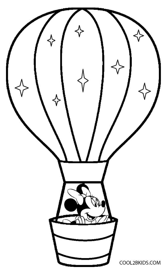 700x1137 Printable Hot Air Balloon Coloring Pages For Kids Cool2bkids