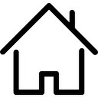 338x338 White House Clipart Stick House