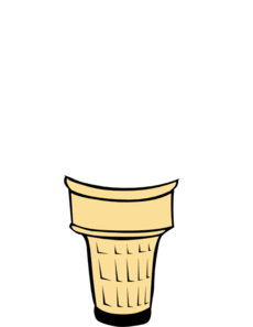 230x297 Cone Clipart Empty