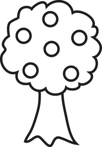 209x300 Clipart Of Trees In Black And White 101 Clip Art
