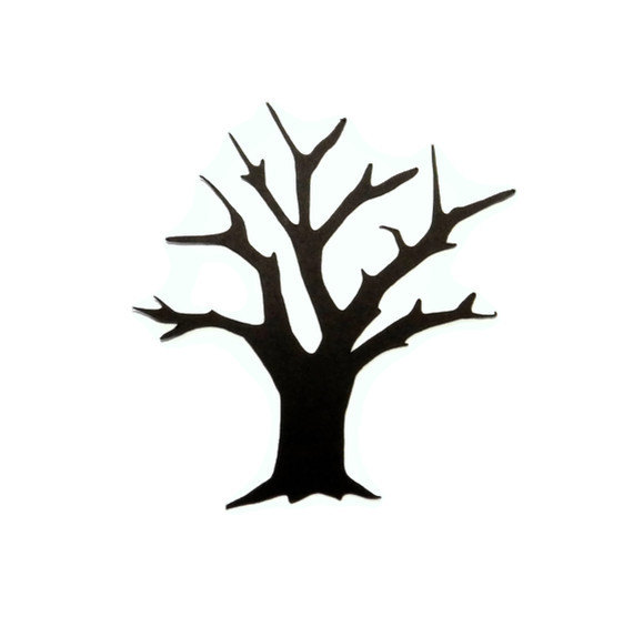 570x556 Dead Tree Clipart Black And White