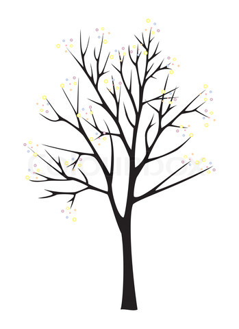 349x480 Tree Black And White Tree Clip Art With Roots Logo Images Trees