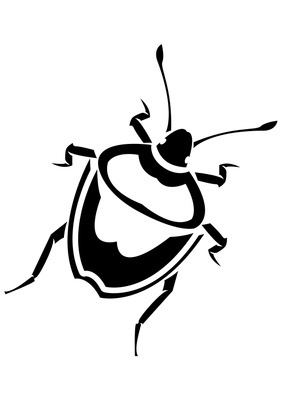 282x400 Beetle Clipart Bug