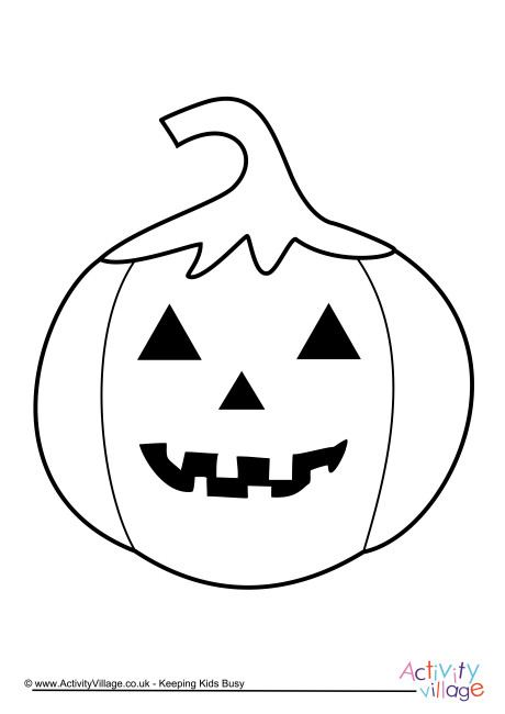 460x650 Jack O Lantern Colouring Pages