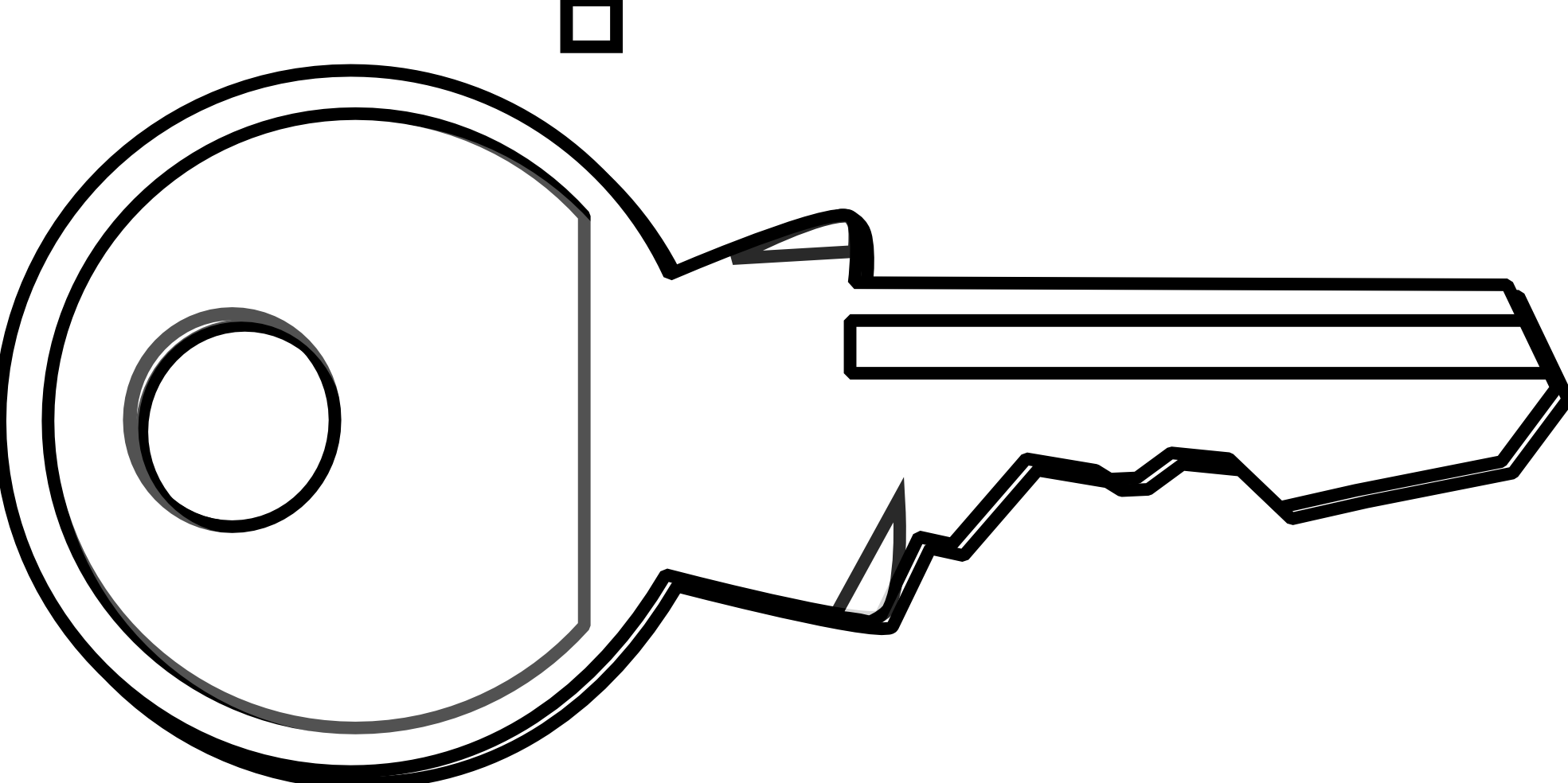 1969x984 Key Black And White Key Clipart Black And White Free Images 5