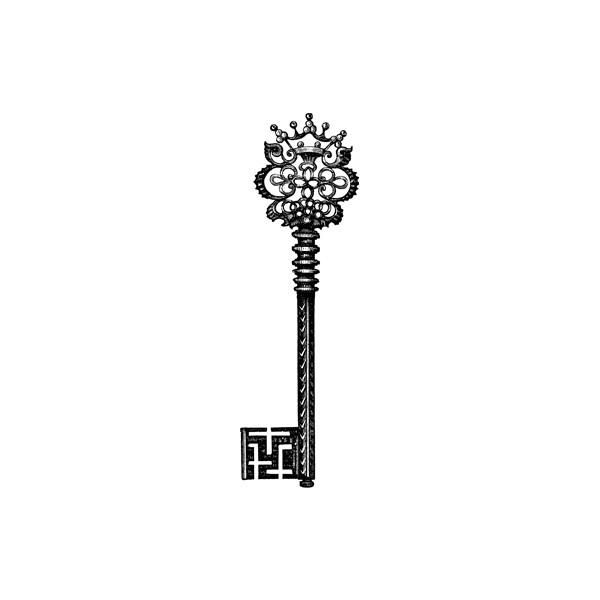 600x600 Best Key Tattoos Ideas Skeleton Key Tattoos