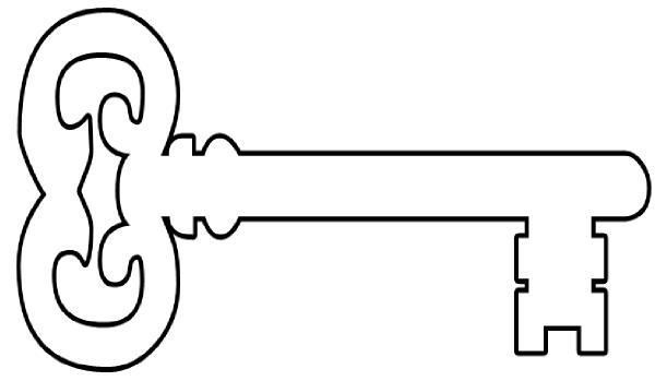 600x349 Key Big Clip Art