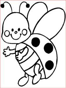 227x300 Drawn Ladybug Black And White