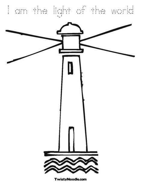 468x605 Free Lighthouse Clipart Outline Image