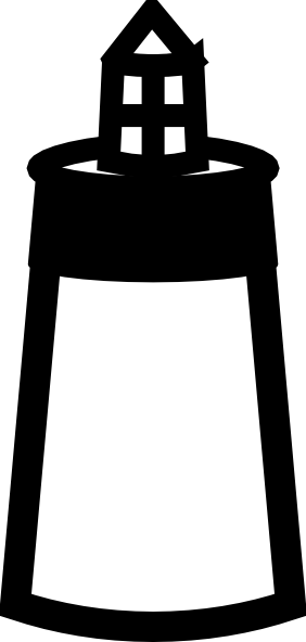 282x592 Lighthouse Clip Art Free Vector 4vector