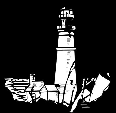 400x388 Lighthouse Clip Art Aquatic Clipart Lighthouses Clipartcow